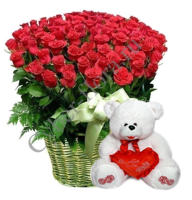 Корзины цветов на заказ