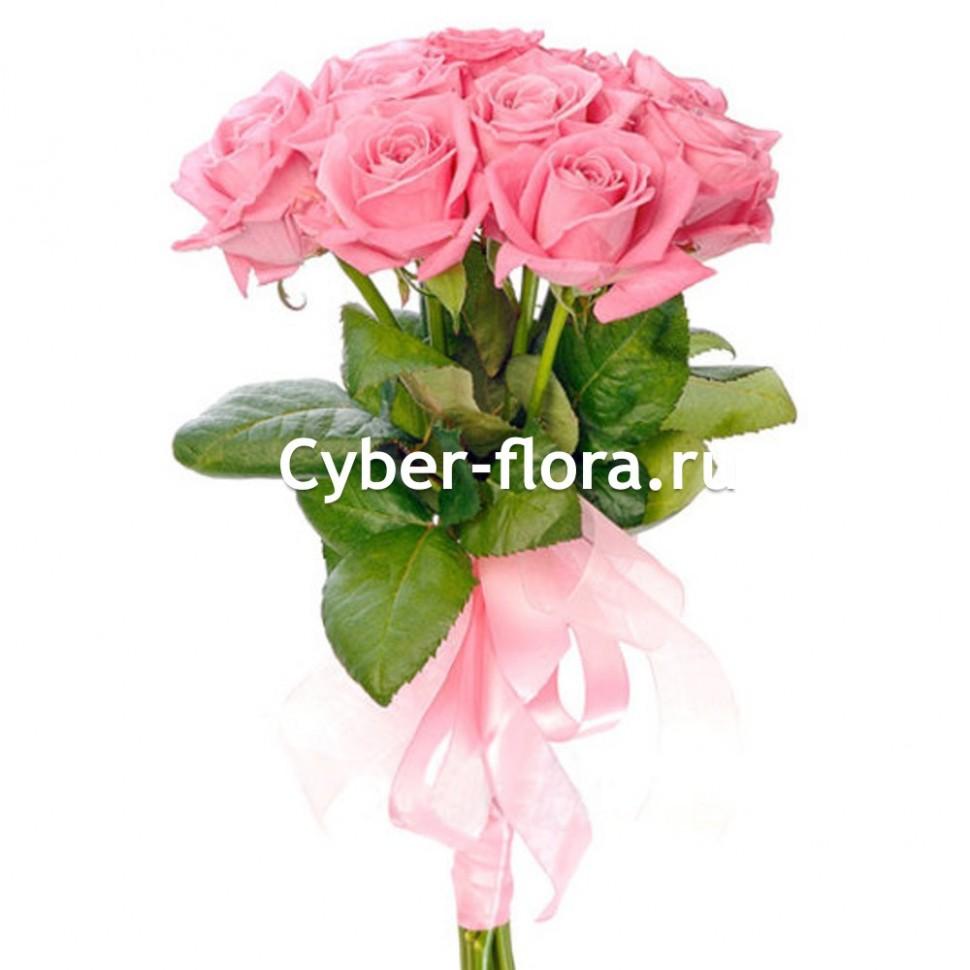 Цветы с доставкой розовые розы где купить розы в омске дешево