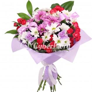 Доставка цветов в обухово ногинский район, букеты с темными пионами свадебные